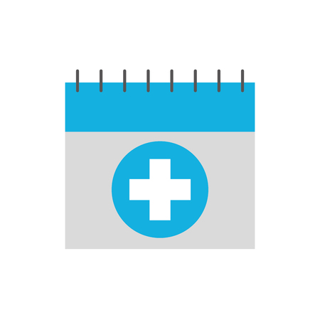 appointment icon such as medical day calendar vector illustration