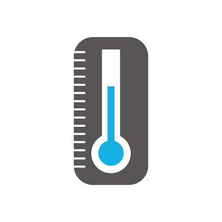 thermometer medical instrument care health vector illustration