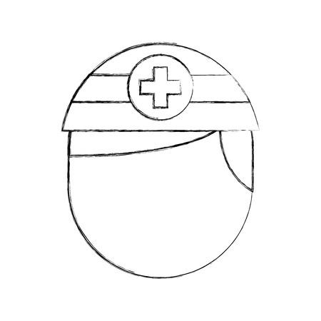 간호사 아바타 직원 임상 사람들 프로 페셔널 벡터 일러스트 레이션