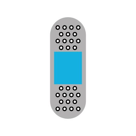 応急バンド石膏医療ヘルプ アイコン ベクトル図