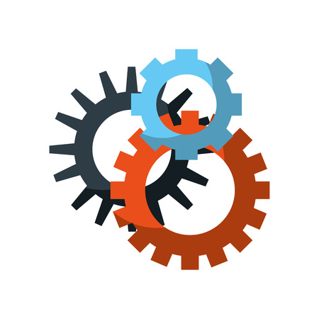 concept van unie team leiderschap groep gemeenschap vector illustratie Stock Illustratie