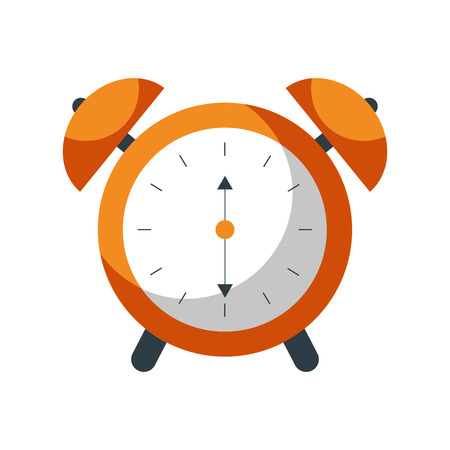 alarm clock time alert bell hour concept vector illustration Stock Vector - 85138670