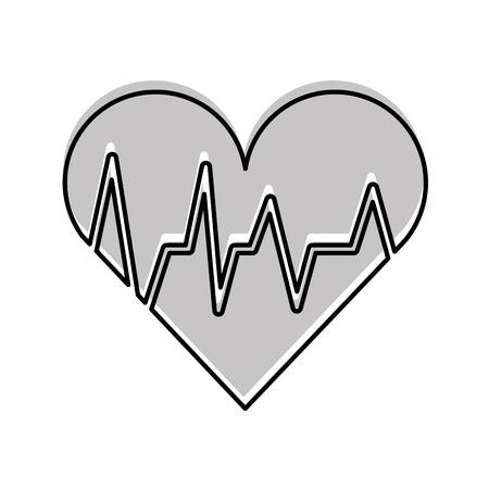 médico médico cardiología ilustración vectorial diagnóstico cardiología