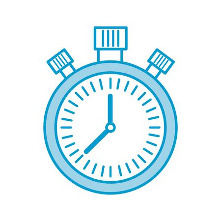 クロノメーター カウント ダウン スピード タイマー オブジェクトのアイコン ベクトル図