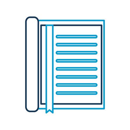 ブックマーク文房具オフィス オブジェクト要素ベクトル イラスト ノート 写真素材 - 85139393