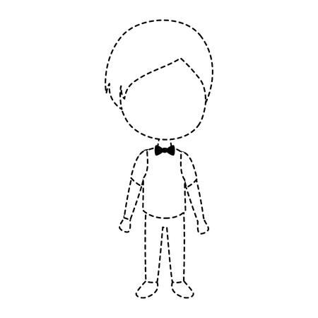 cute husband avatar character vector illustration design