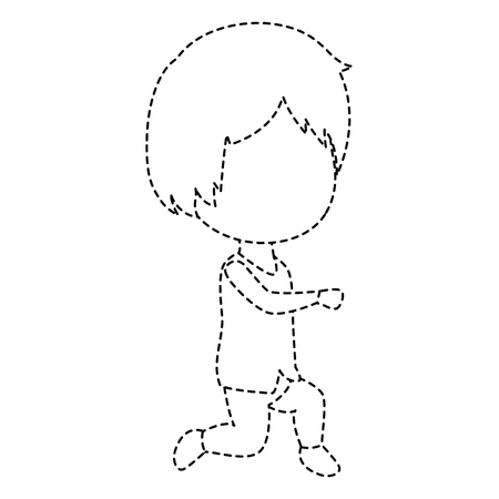 Schattige man avatar karakter vector illustratie ontwerp Stockfoto - 85246426
