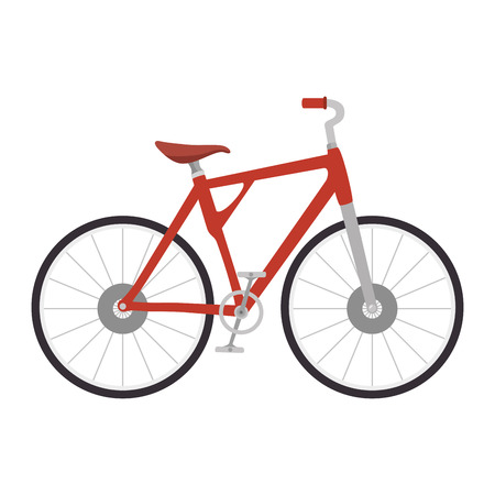 racing sign: bicycle vehicle isolated icon vector illustration design