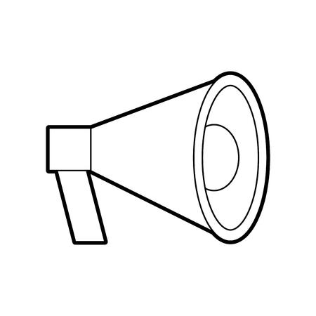 Megáfono megáfono megáfono marketing ilustración vectorial publicidad Foto de archivo - 85283785