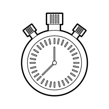 chronometer countdown speed timer object icon vector illustration Reklamní fotografie - 85283780