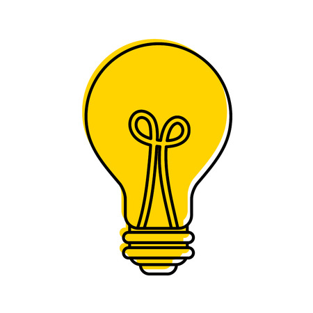 bulb light idea creativity innovation business concept vector illustration