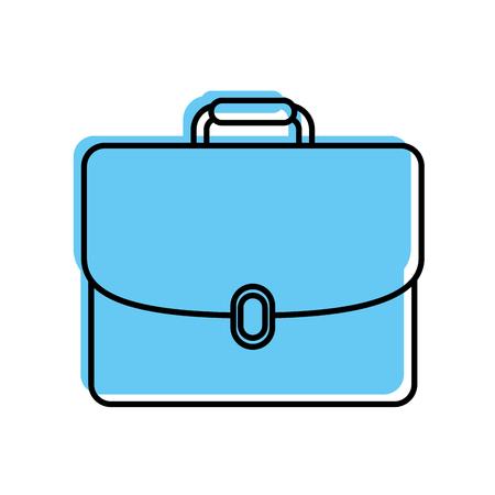 ビジネスブリーフケースドキュメントポートフォリオアクセサリーベクターイラスト  イラスト・ベクター素材