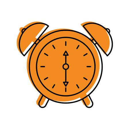 alarm clock time alert bell hour concept vector illustration Stock Vector - 85283939