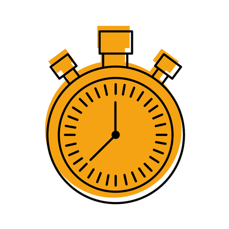 chronometer countdown speed timer object icon vector illustration Stock Vector - 85283949