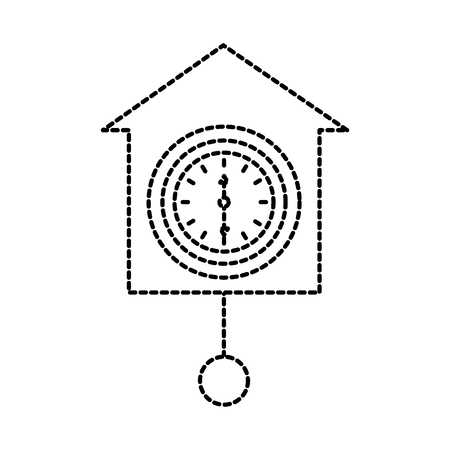wall clock icon object time concept vector illustration Illustration