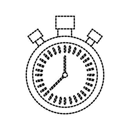 chronometer countdown speed timer object icon vector illustration Stock Vector - 85287999