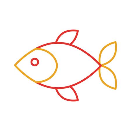 Fisch Shop Store Markt mit Frische Meeresfrüchte Mahlzeit Vektor-Illustration Standard-Bild - 85288609