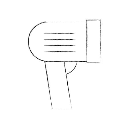 バーコードスキャナ市場価格技術ベクトルイラスト  イラスト・ベクター素材