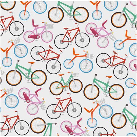 Bicycle vehicle pattern