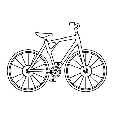 Bicycle vehicle icon design