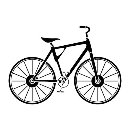 racing sign: Bicycle vehicle icon