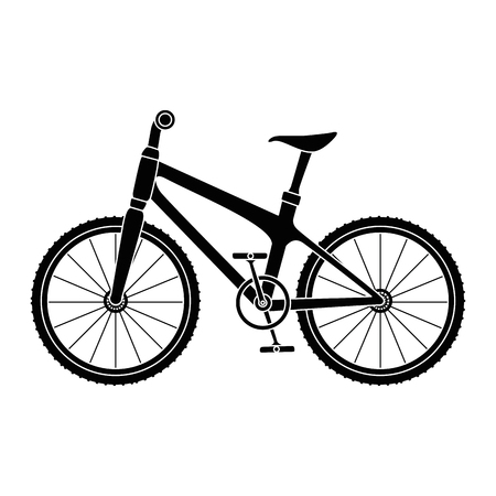 Bicycle vehicle icon