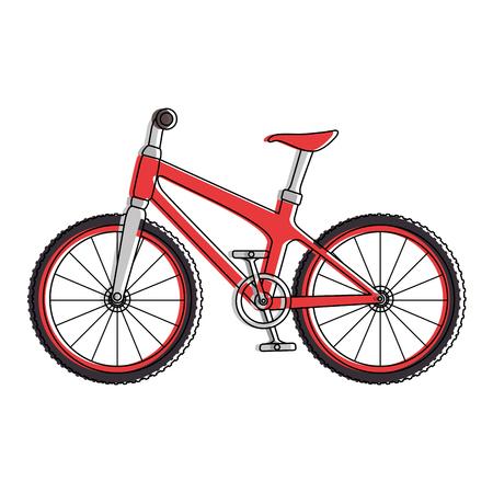 Icona del veicolo della bicicletta Archivio Fotografico - 85344410