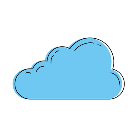 Cloud illustration.