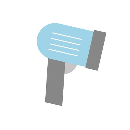 Bar code de code du marché de codes de sang illustration vectorielle Banque d'images - 85357824