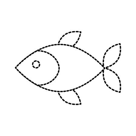 ショップ店魚市場新鮮シーフード食事ベクトル イラスト