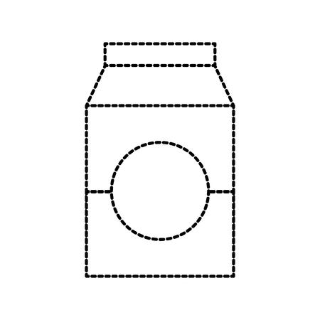 milk or juice box carton with drinking vector illustration 版權商用圖片 - 85358603