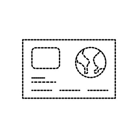 bank card credit card discount card design template vector illustration