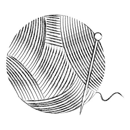 woolen roll isolated icon vector illustration design Фото со стока - 85366329
