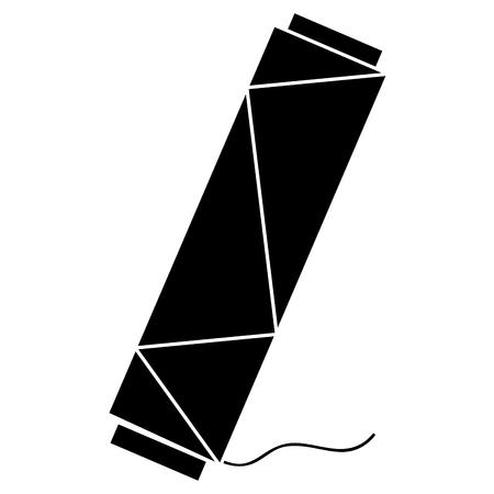 縫製糸管のアイコン ベクトル イラスト デザイン  イラスト・ベクター素材