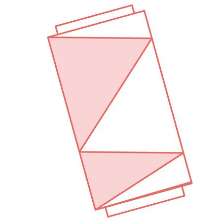 바느질 실 튜브 아이콘 벡터 일러스트 레이 션 디자인