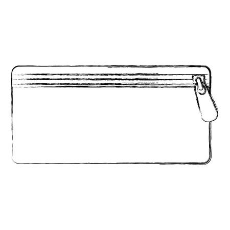 TUi à crayons isolé icône illustration d'illustration vectorielle Banque d'images - 85363730