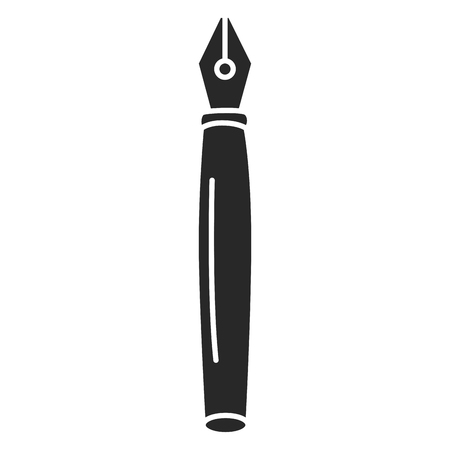 pen school isolated icon vector illustration design
