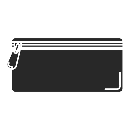 pencil case isolated icon vector illustration design