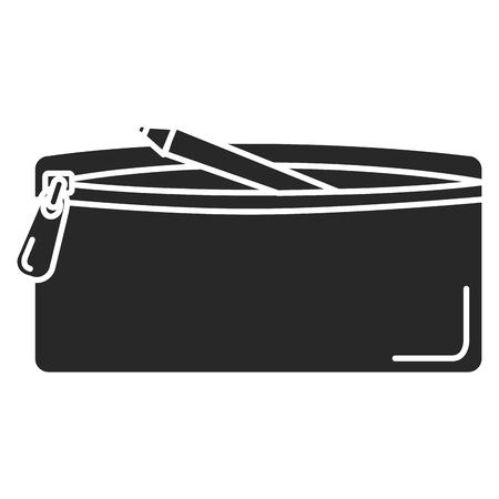 鉛筆ケース分離アイコンベクトルイラストデザイン 写真素材 - 85452985