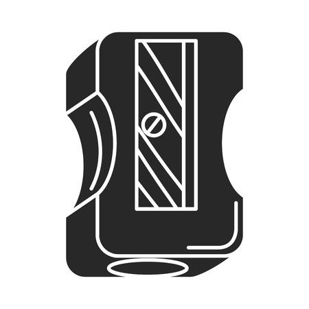 sharpenner 学校分離アイコン ベクトル イラスト デザイン