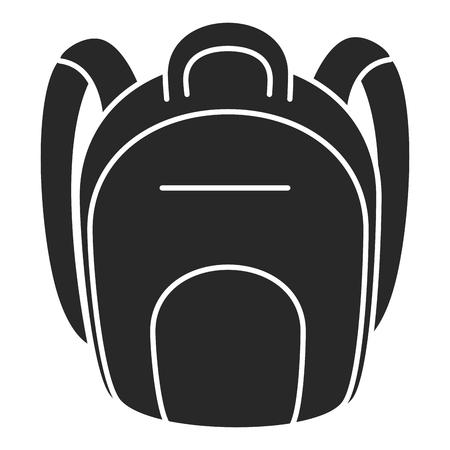 school bag isolated icon vector illustration design Stock Vector - 85452989