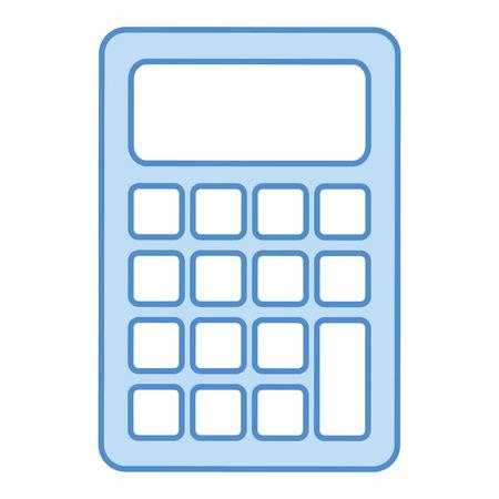 mathematics: calculator math isolated icon vector illustration design