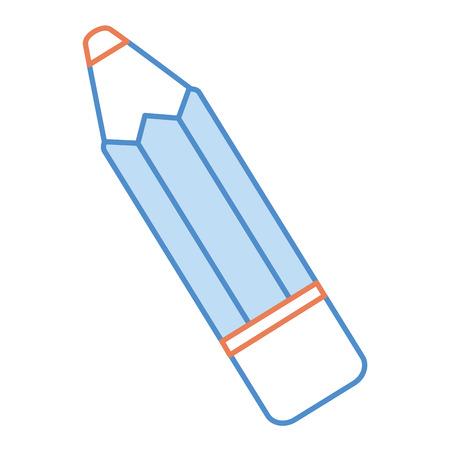 鉛筆学校孤立アイコンベクトルイラストデザイン  イラスト・ベクター素材