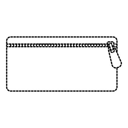 étui de crayon isolé icône du design d & # 39 ; illustration vectorielle
