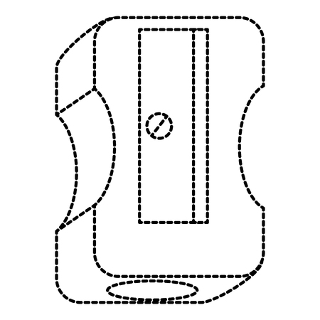 sharpenner school isolated icon vector illustration design