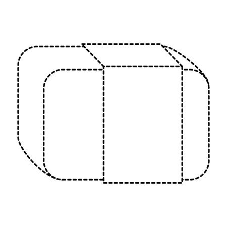 eraser school isolated icon vector illustration design Illusztráció
