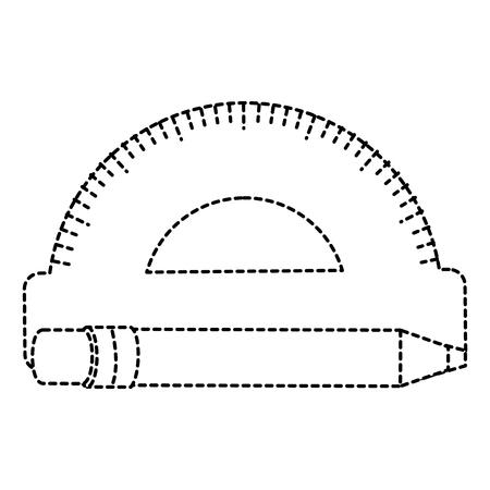 ペンベクトルイラストレーション設計によるコンベアルール  イラスト・ベクター素材