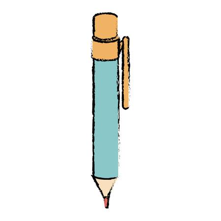 pen school isolated icon vector illustration design