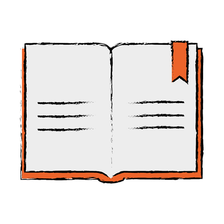Text book school icon vector illustration design Ilustrace