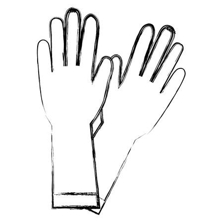 手術 golves ラバーアイコンベクトルイラストデザイン